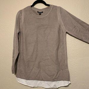 Brand new Hilary Radley Ptterned Sweater